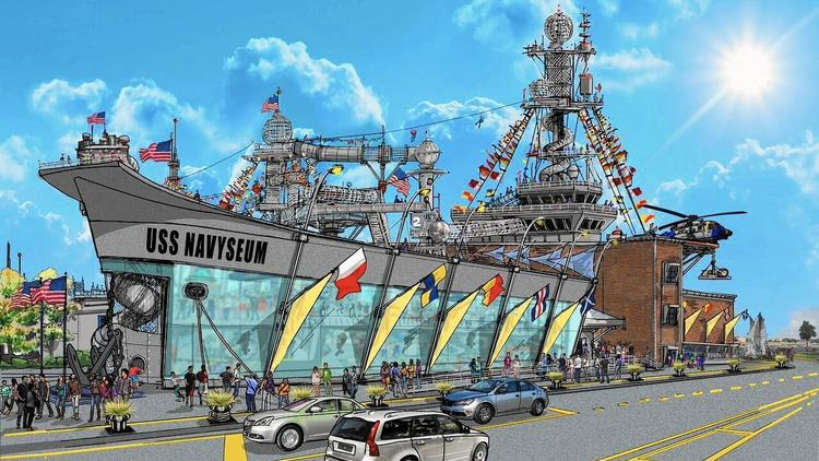 Interactive $43 million Navyseum proposed for North Chicago