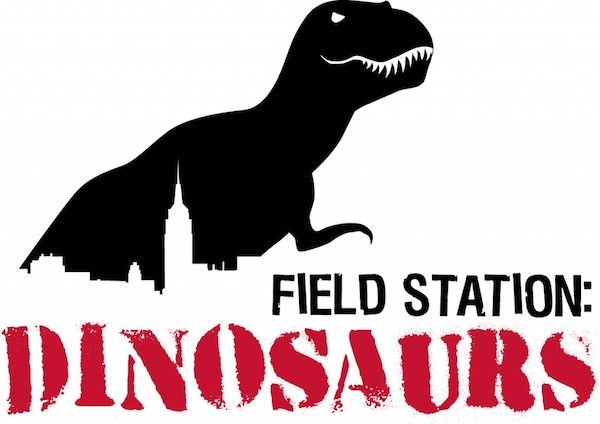 field station- dinosaurs trex logo wichita kansas