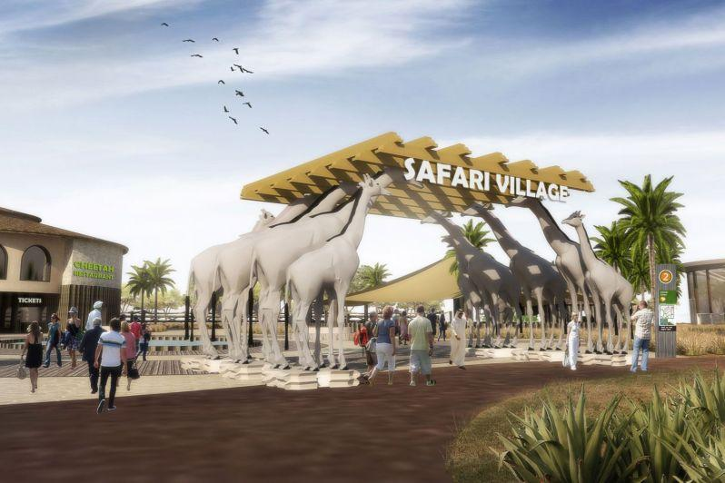 Dubai Safari wildlife attraction IAAPA EMEA