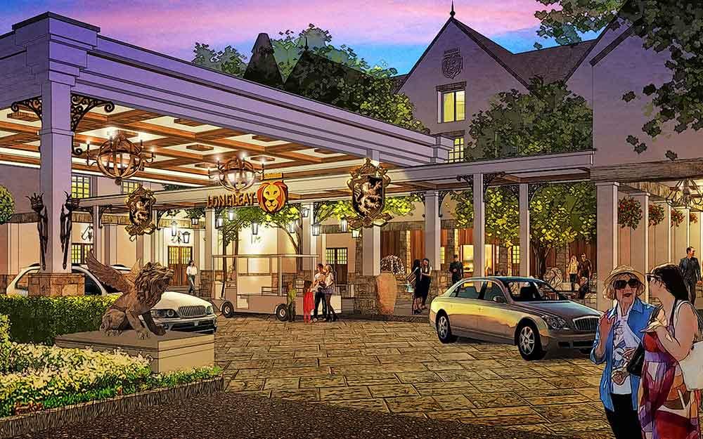 longleat entrance hotel