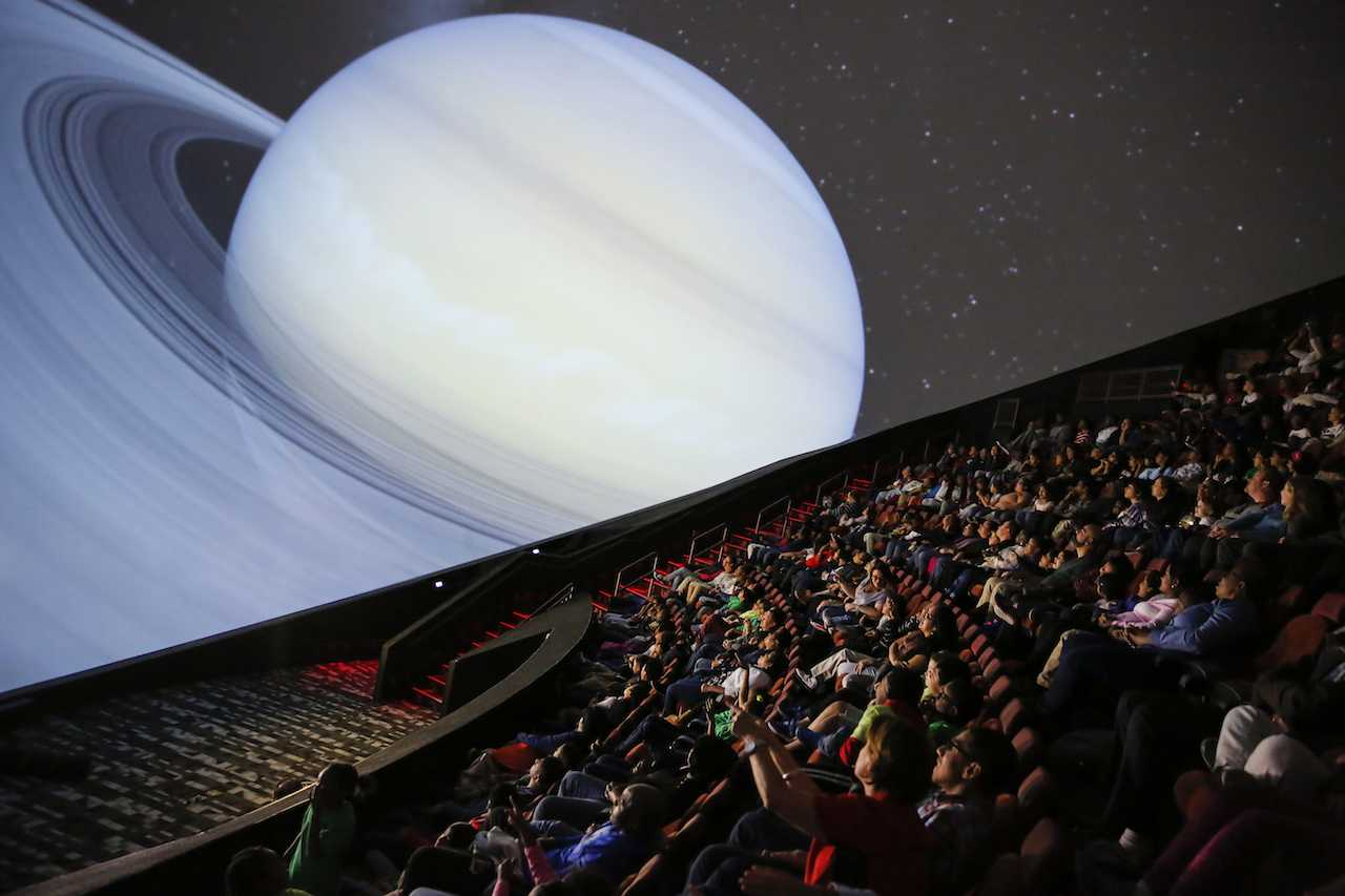 New Liberty Science Centre Planetarium the fourth largest in the world (take that, Manhattan!)