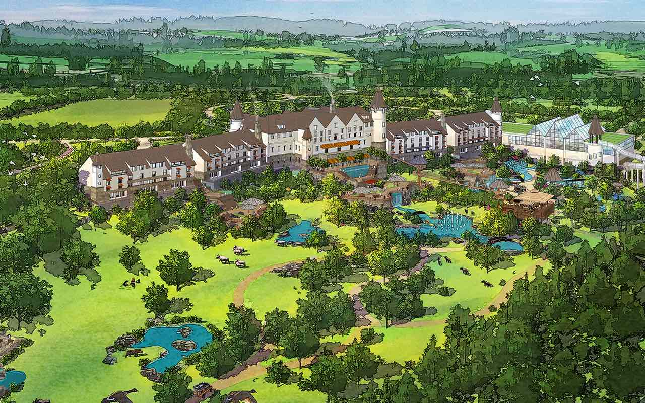 forrec longleat masterplan waterpark hotel