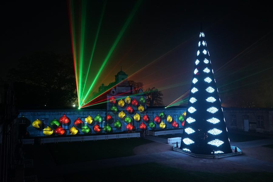 festival of lights longleat lci productions mapping