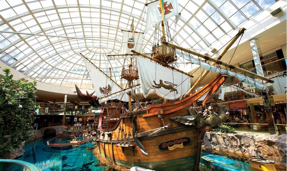 themed experiences west edmonton mall malls
