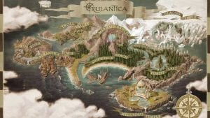 europa-park rulantica map, around the world in 2019