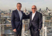 Bob Iger and Rupert Murdoch : Dinsey acquires 21st century fox
