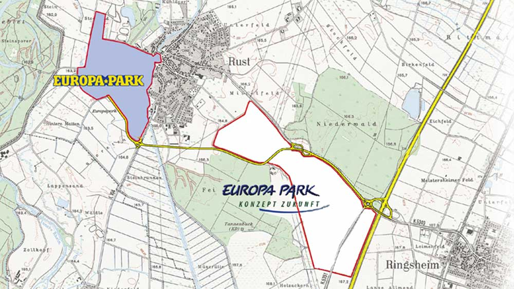 waterpark resort map waterpark building site rulantica europa-park
