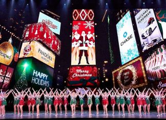 7thSense design deliver updated video to Radio City Music Hall Rockettes Christmas Spectacular