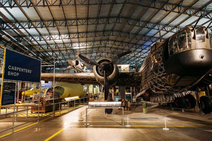 Sysco Productions Brooklands Museum hangar