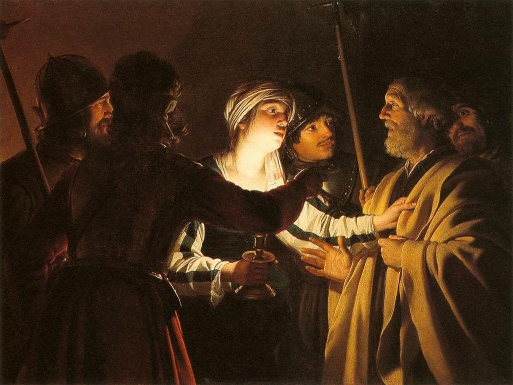 Gerard-van-Honthorst-The-Denial-of-St-Peter-1622-1 minniapolis institute of art