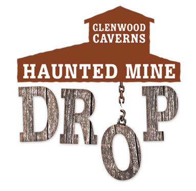 haunted mine drop logo