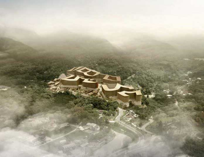 Taikai TLDC plans HSinchu Camelia Hot Spring Villa