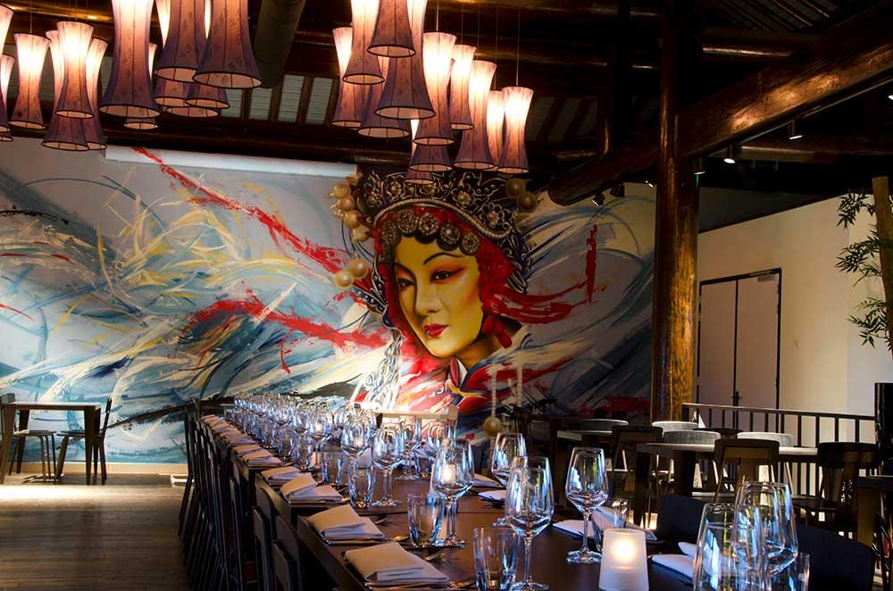 event room restaurant pandasia Ouwehands Zoo giant pandas