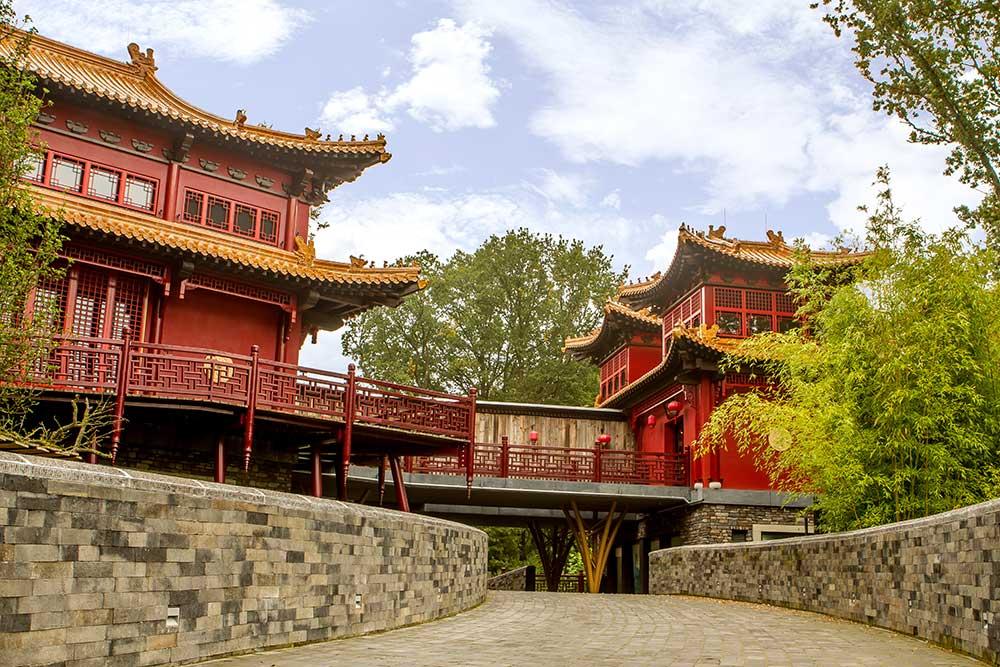 pandasia buildings Ouwehands Zoo giant pandas