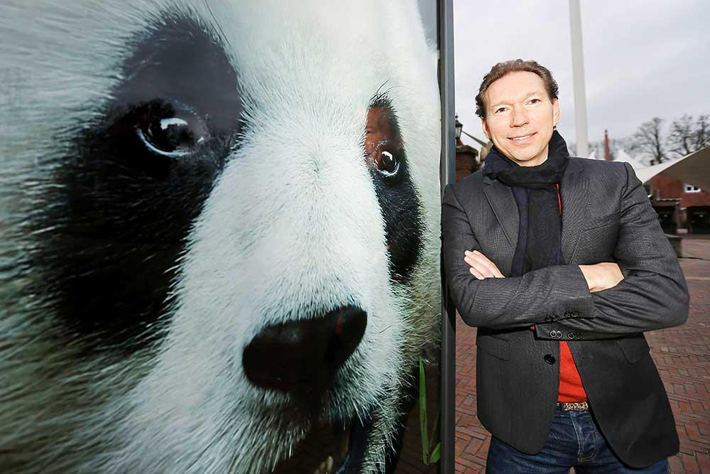 robin de lange pandasia Ouwehands Zoo giant pandas