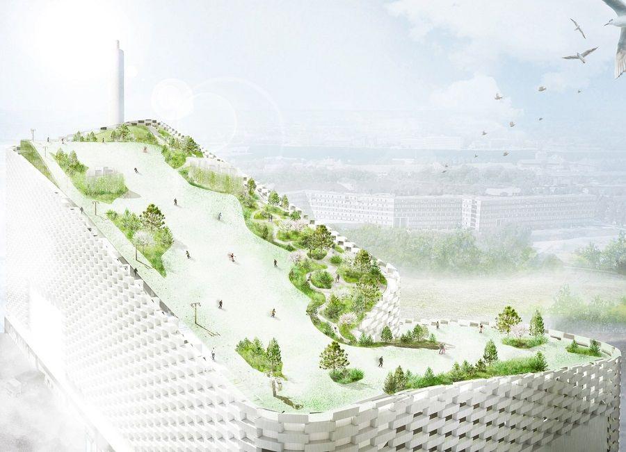 Ski Slope To Be Built On Roof Of Copenhagen Energy Plant