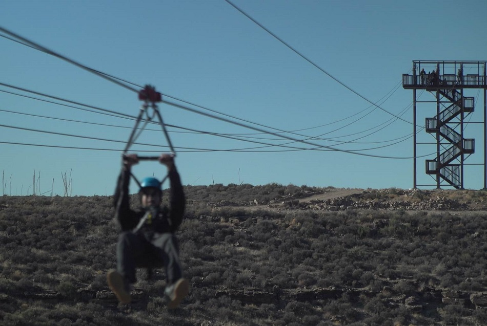 Zipline at Grand Canyon West, operated by Grand Canyon Resort Corporation.