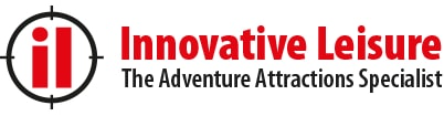 innovative leisure logo sky trail sky tykes thrill attraction