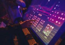 electrosonic interactive audio visual panel Maurizio Capuzzo