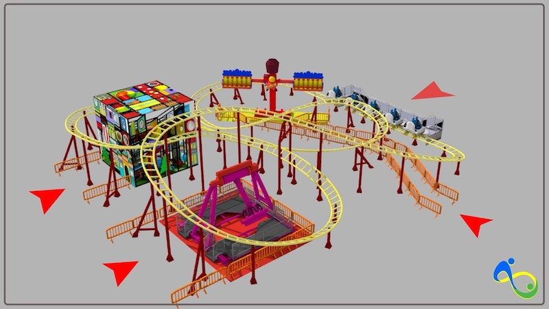 TT Coaster EOS Rides With ride
