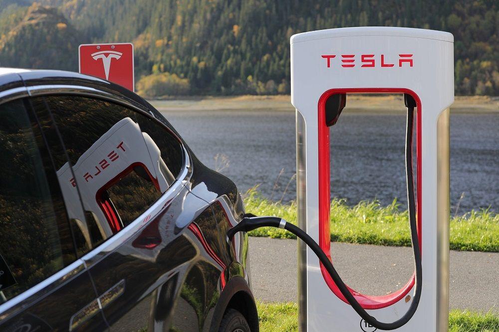 Tesla, charging station, Elon Musk, Fuel City.