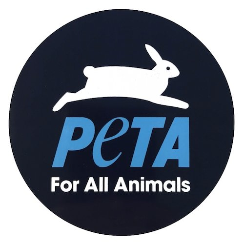 peta logo for all animals animal rights