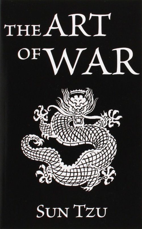 the art of war sun tzu book cover dragon