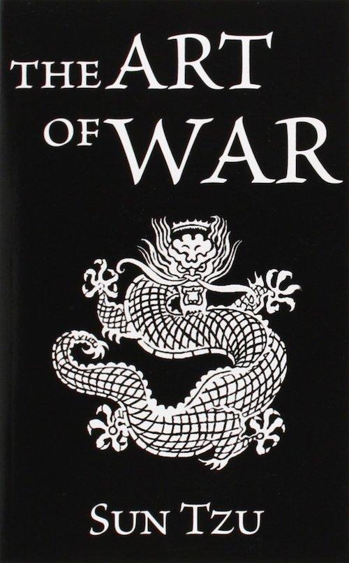 the art of war sun tzu book cover dragon