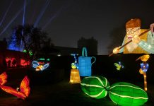 Longleat light festival blooloopLIVE Nighttime Spectaculars ISE2018