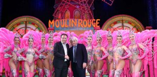 Dancing girls at Moulin Rouge Europa Park partners Paris hotspot Moulin Rouge Europa Park teams up with Paris hotspot Eurosat - CanCan Coaster