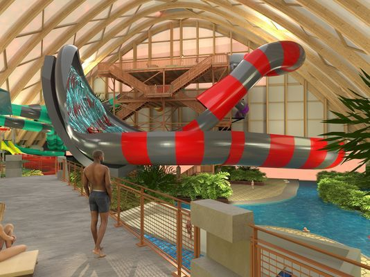 Kartrite Hotel and indoor waterpark. Resorts World Catskills