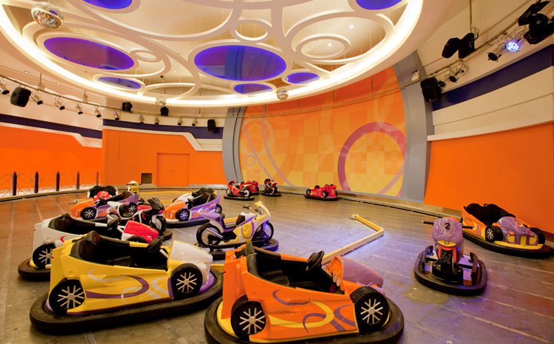 Infunity Sea entertainment centre at Al Kout Mall in Kuwait.