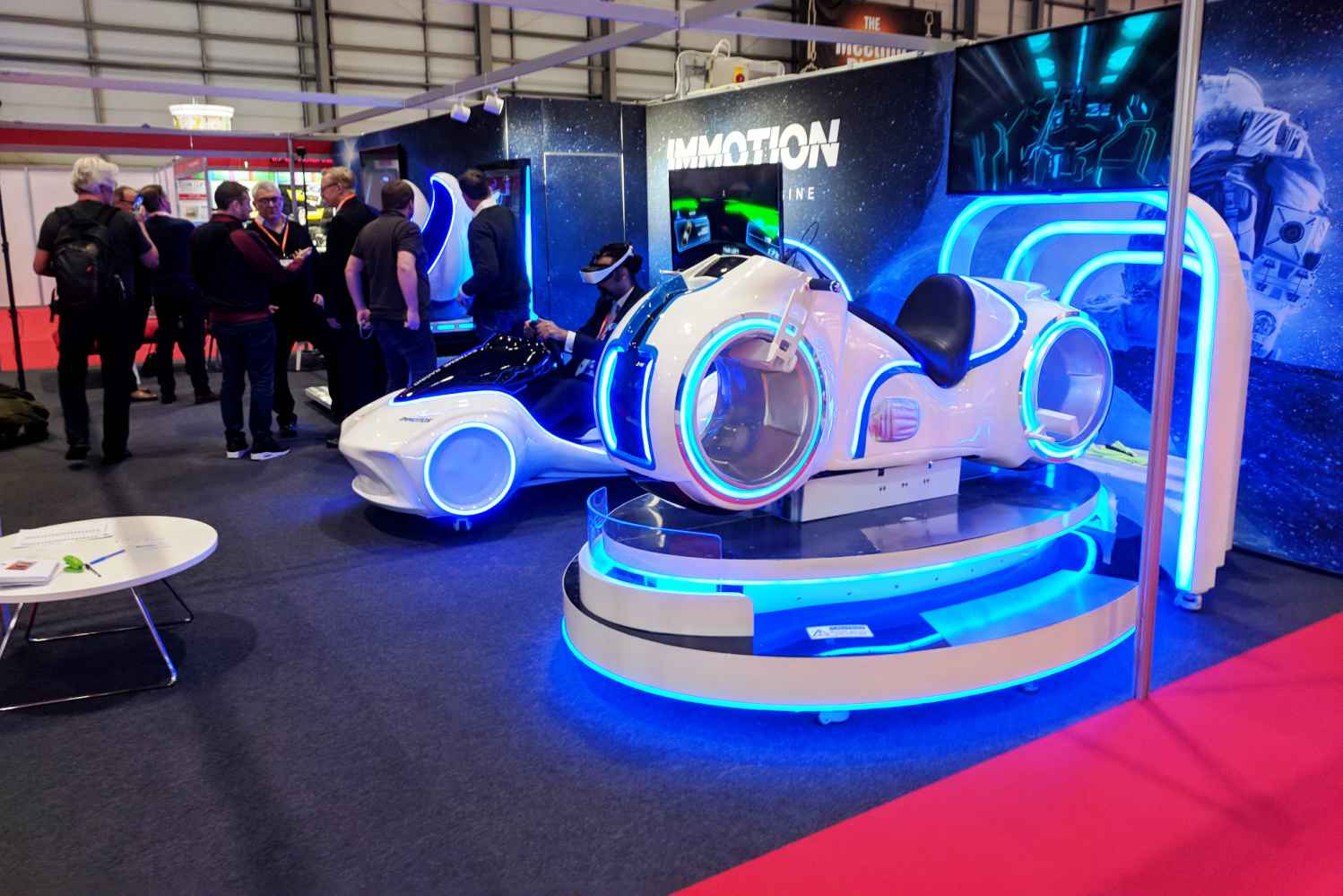immotion group ride vehicle eag international expo