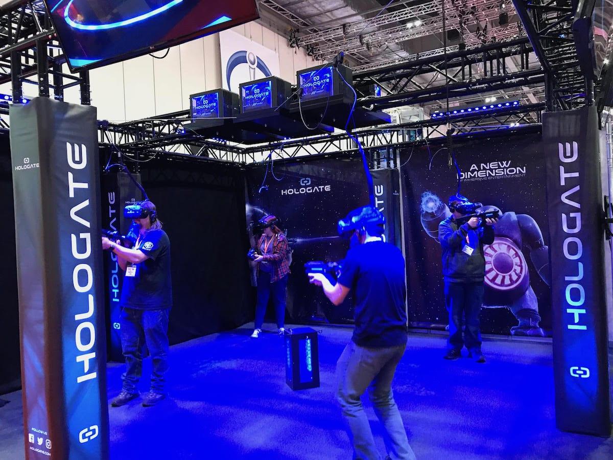 Hologate VR arena