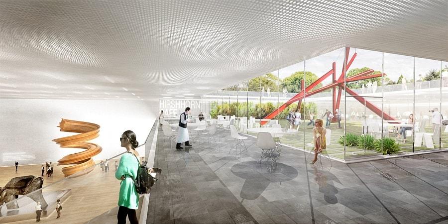 BIG, Smithsonian campus, Sackler Gallery, Haupt Garden, master plan