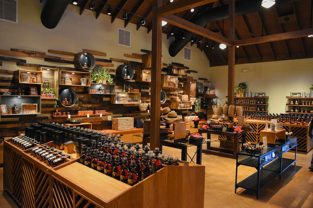 Joy Spence Appleton Estate Rum experience retail designed by JRA