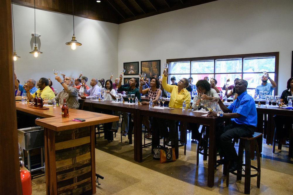 Joy Spence Rum Experience tasting room designed by JRA
