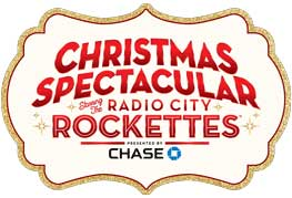 Christmas Spectacular at radio city music hall logo