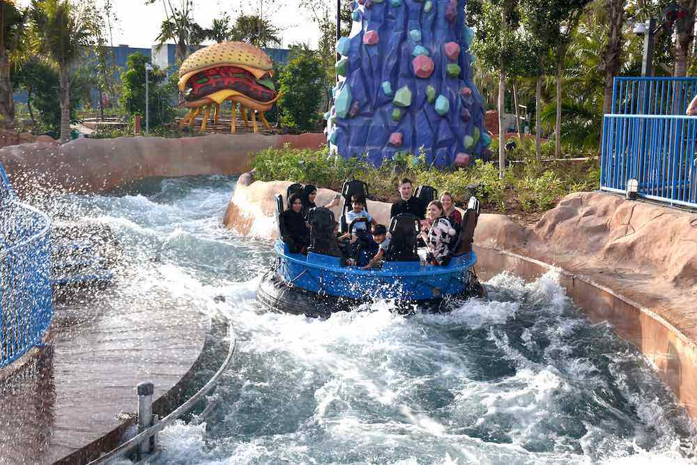 rapids water ride motiongate whitewater west