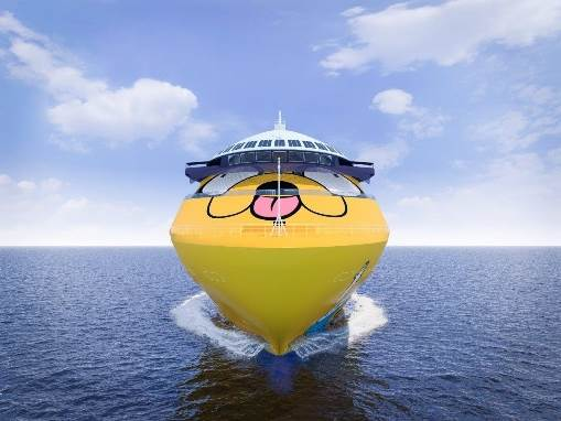 cartoon network wave cruise ship