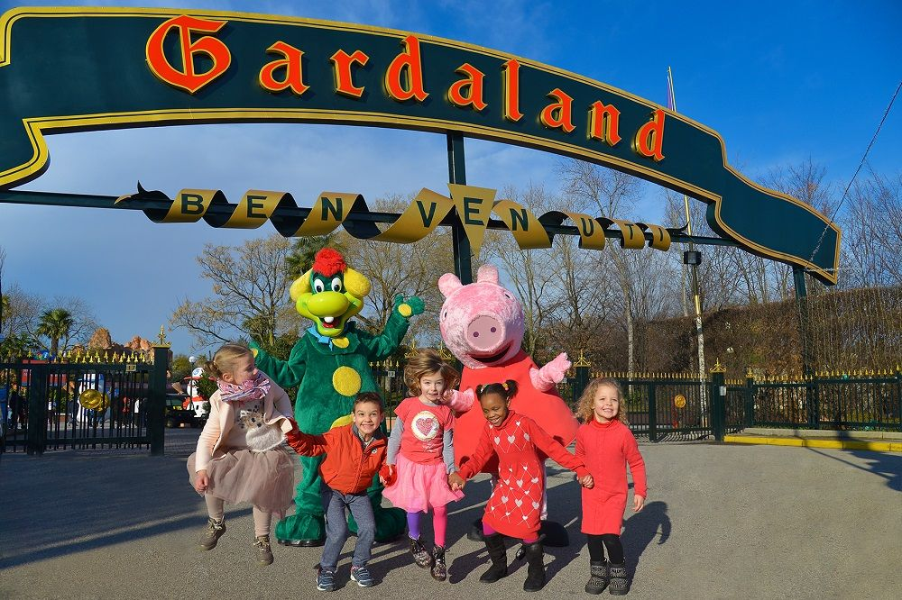 Peppa Pig Land. peppa pig. Entertainment one. Merlin Entertainments. Gardaland.