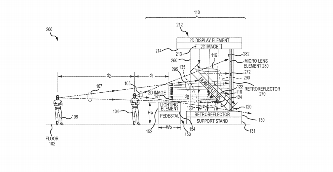 Disney. Patent. Holograms. Floating Image. Star Wars.