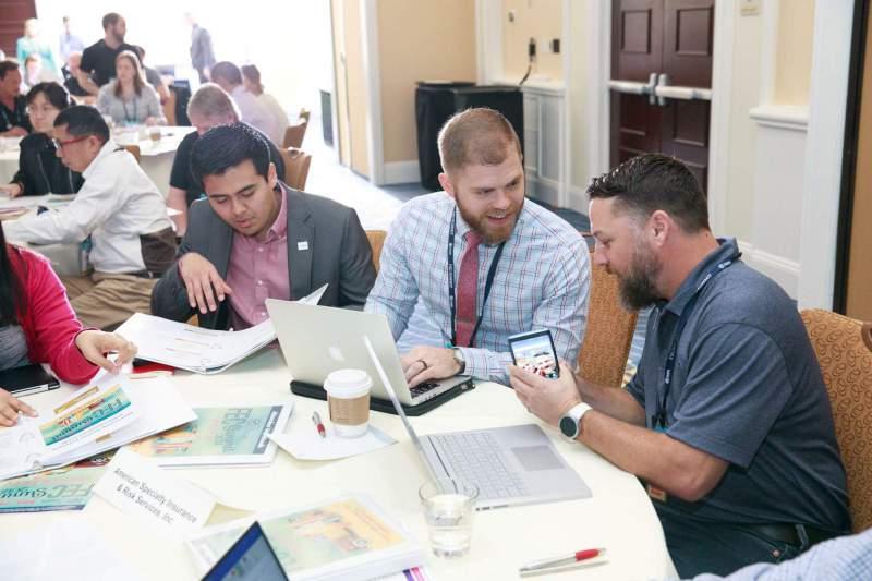 attendees at iaapa fec summit 2018 sharing ideas