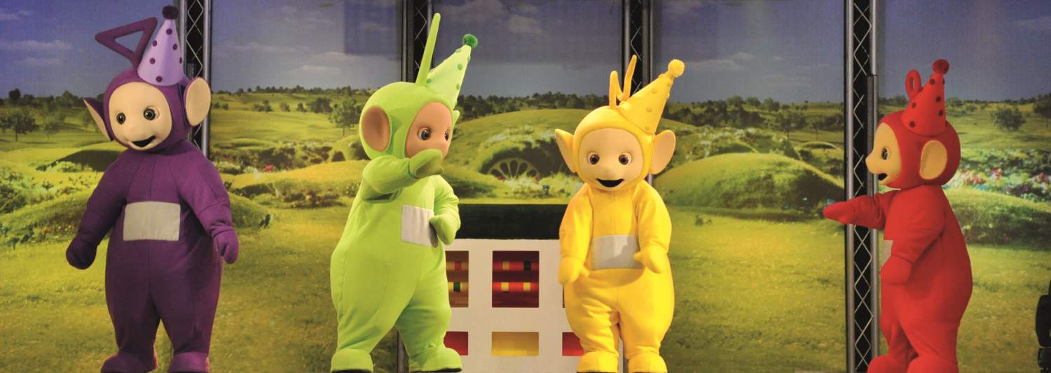 teletubbies and tiddlytubbies in new Butlins Big Play Date show