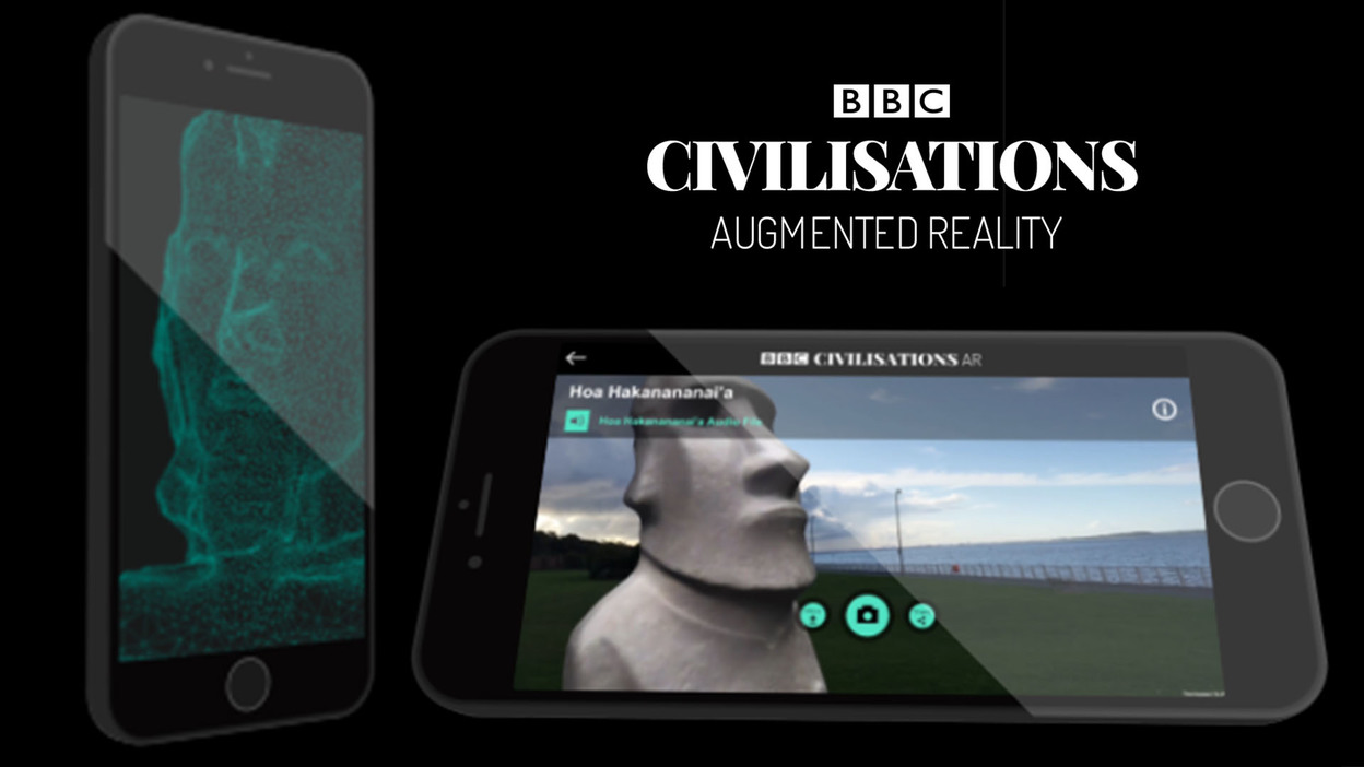BBC. Civilisations. augmented reality. AR. BBC research and development