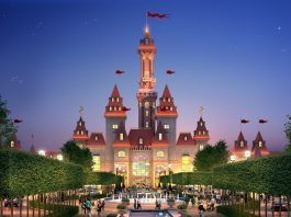 Dream Island. Moscow. Ride installation. attractions. regions entertainment.