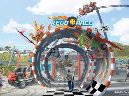 The Great Lego Race. Legoland. Florida. VR coaster. Virtual reality.