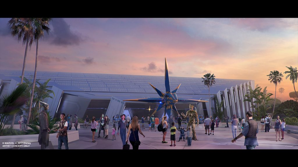 Guardians of the Galaxy roller coaster coming to Epcot at Walt Disney World Resort in Florida.