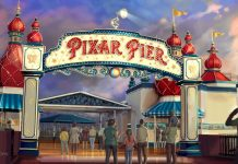 Pixar Pier at Disney California Adventure.