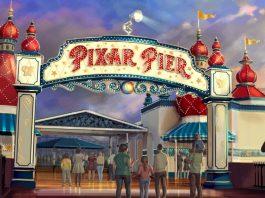 Pixar Pier at Disney California Adventure.